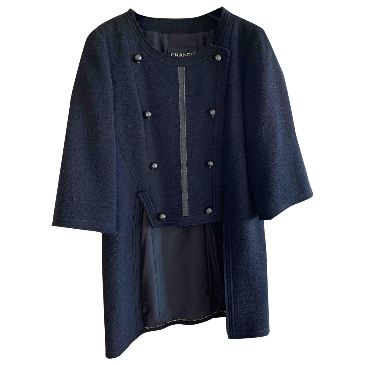 Chanel \N Black Wool coat for Women 40 FR