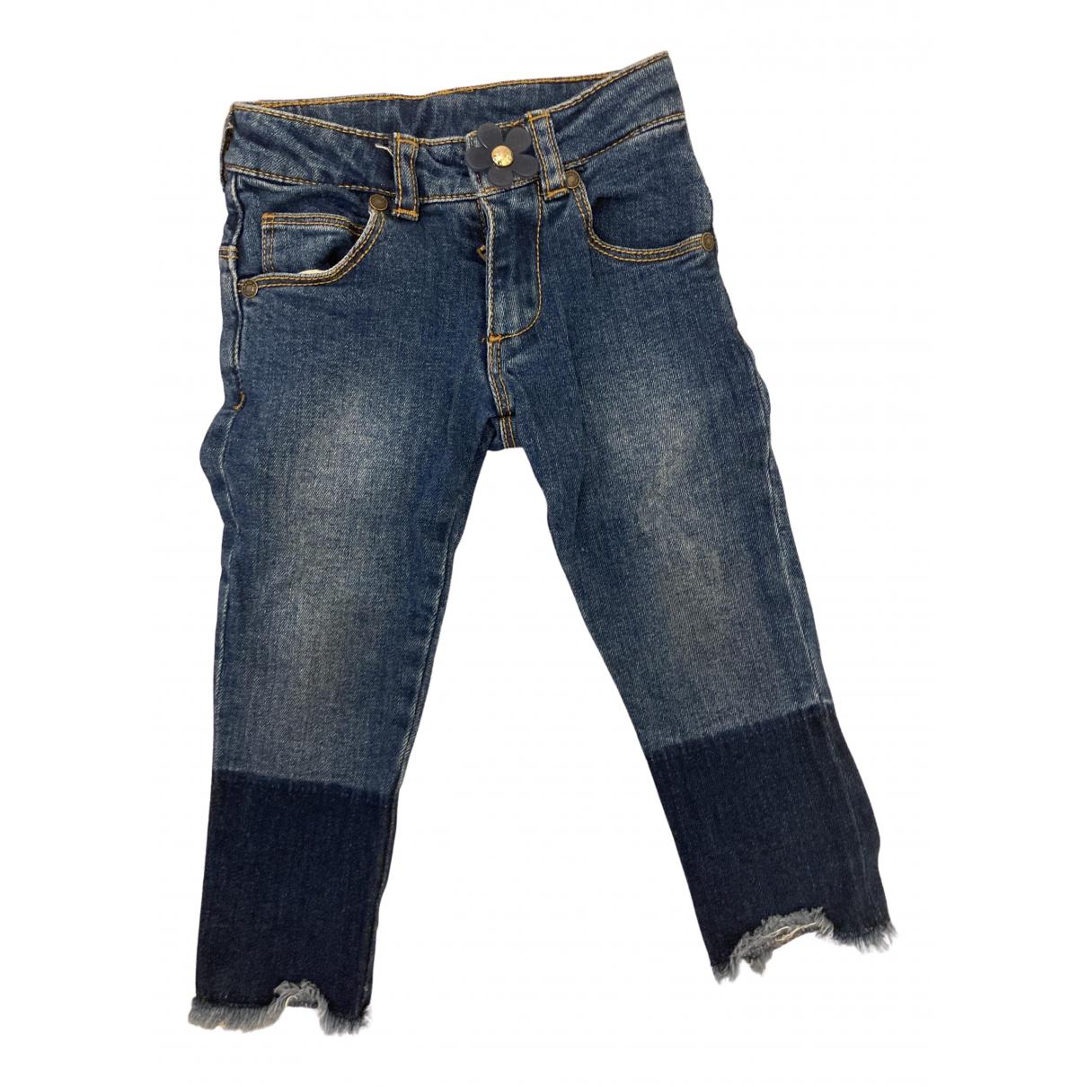 Little Marc Jacobs - Pantalon   pour enfant en coton - bleu