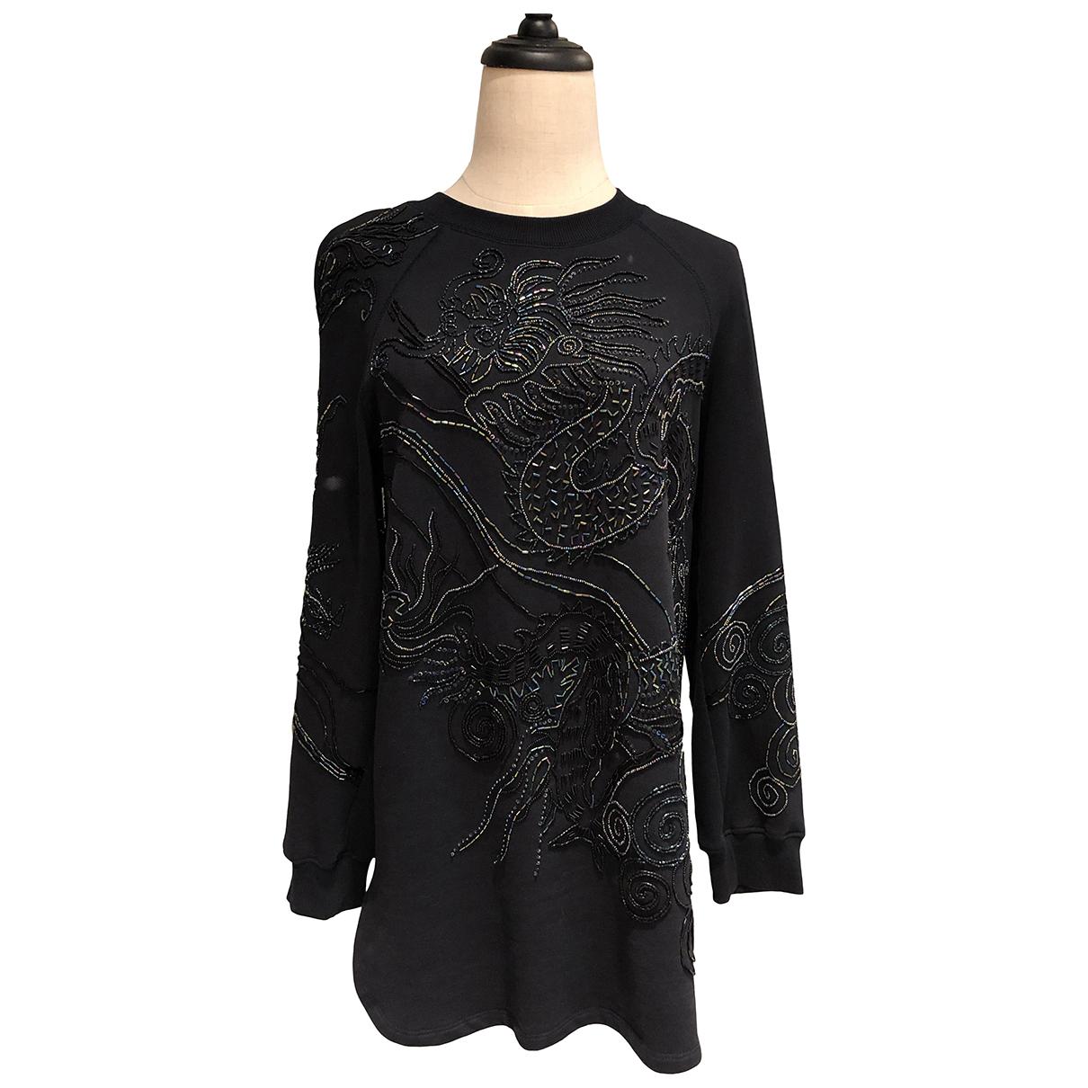 Dries Van Noten - Pull   pour femme en coton - noir