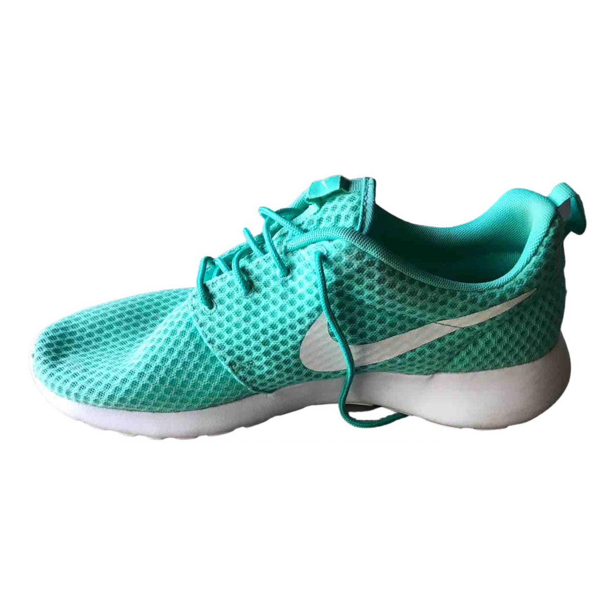 Nike Roshe Run Green Trainers for Men 45 EU