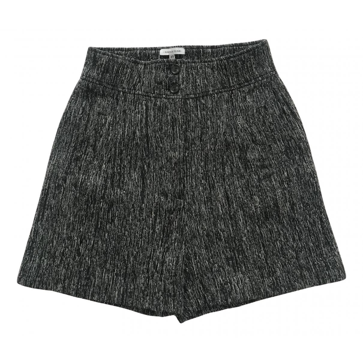 Surface To Air \N Shorts in  Grau Baumwolle
