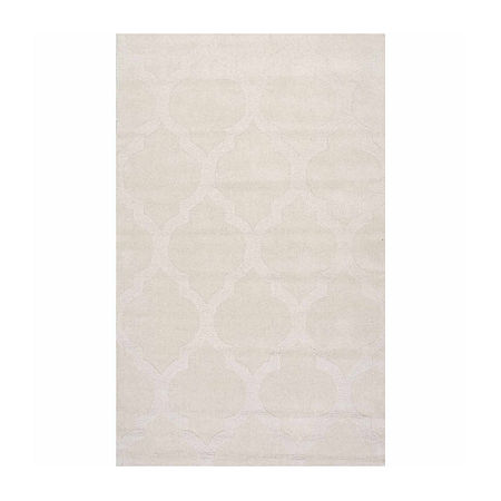 nuLoom Hand Tufted Maybell Rug, One Size , White
