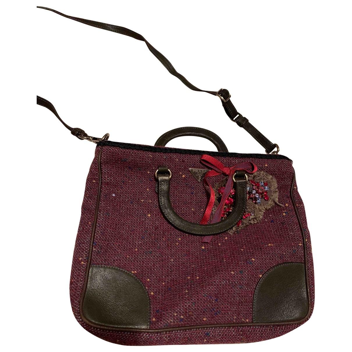 Prada \N Handtasche in  Lila Tweed