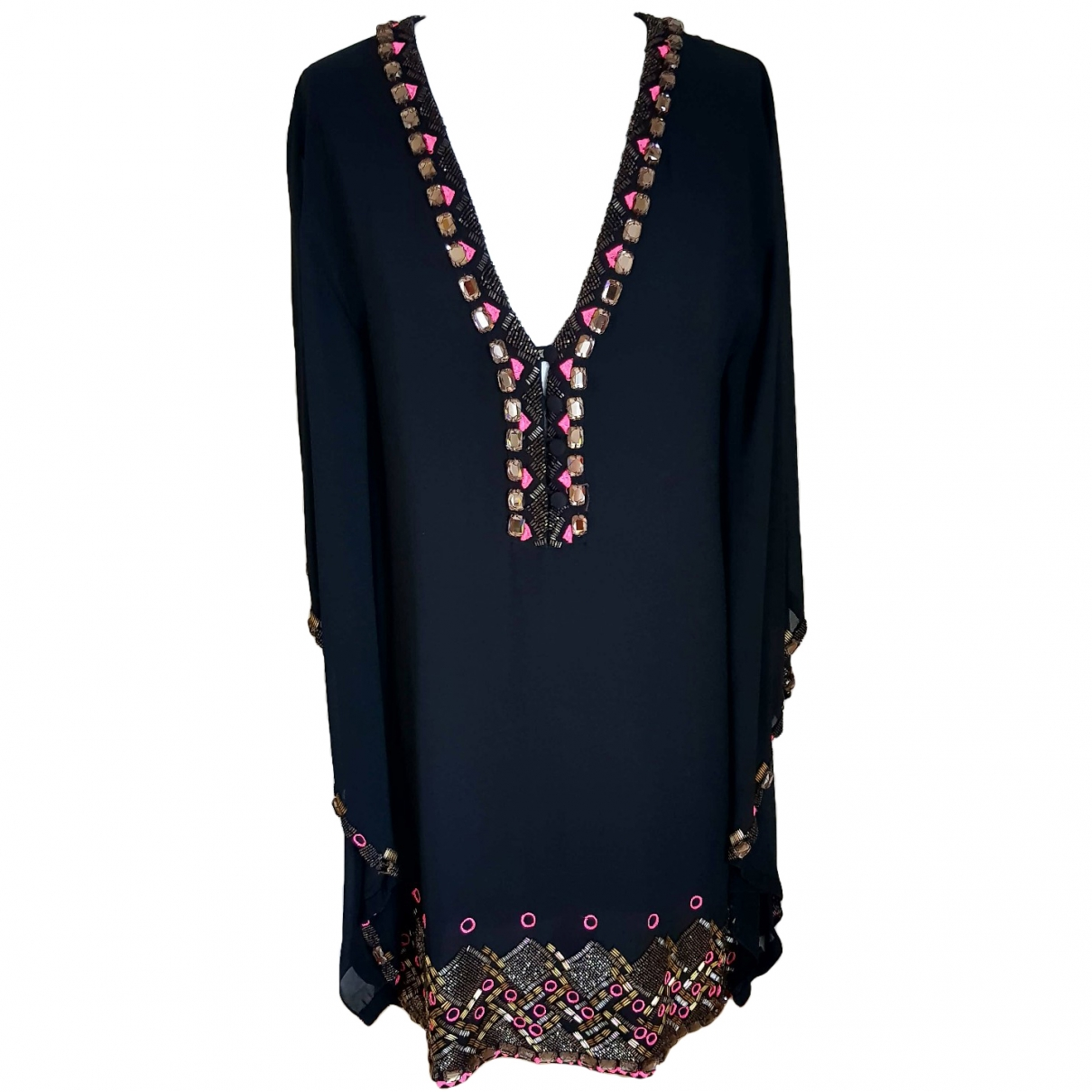 Matthew Williamson \N Black Silk dress for Women 8 UK
