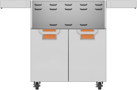 ECD30OR 30 Aspire Series Door Cart with 2 Door Configuration  Recessed Marquise Accented Panels with Commercial Grad Handles  Adjustable Door Hinges