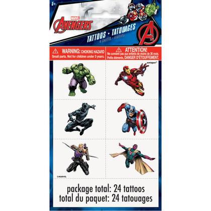 Avengers 4 Tattoo Sheets/Favors Pour la fête d'anniversaire