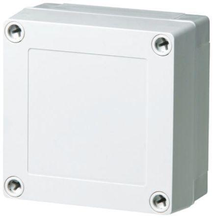 Fibox Grey ABS Enclosure, IP66, IP67, 180 x 130 x 75mm