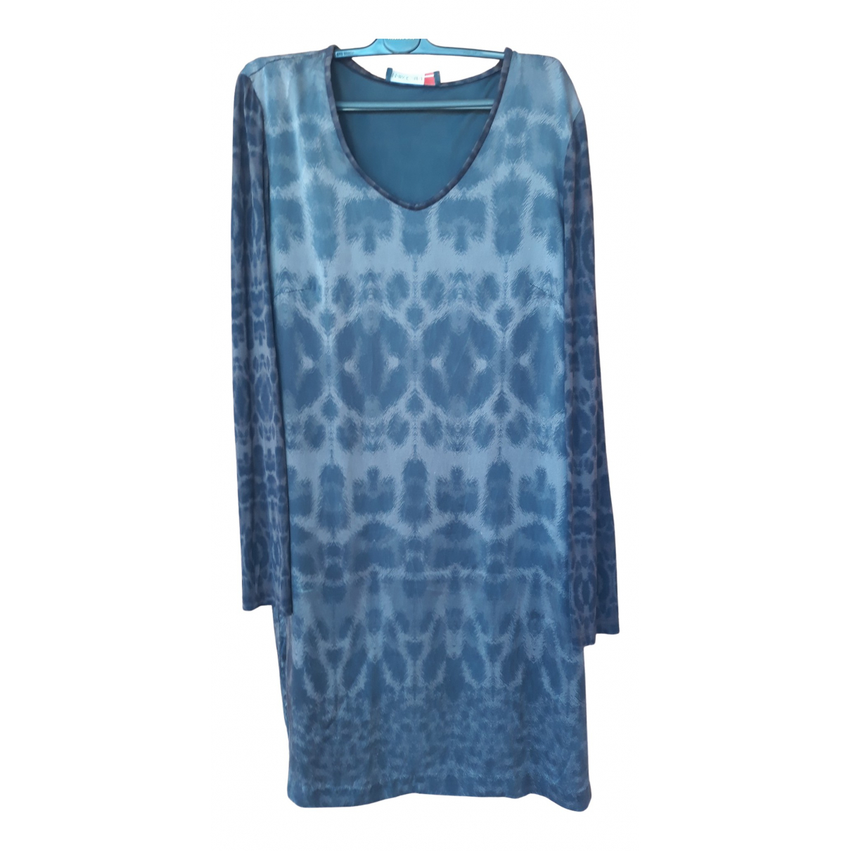 Marc Cain N Brown Silk dress for Women 42 IT