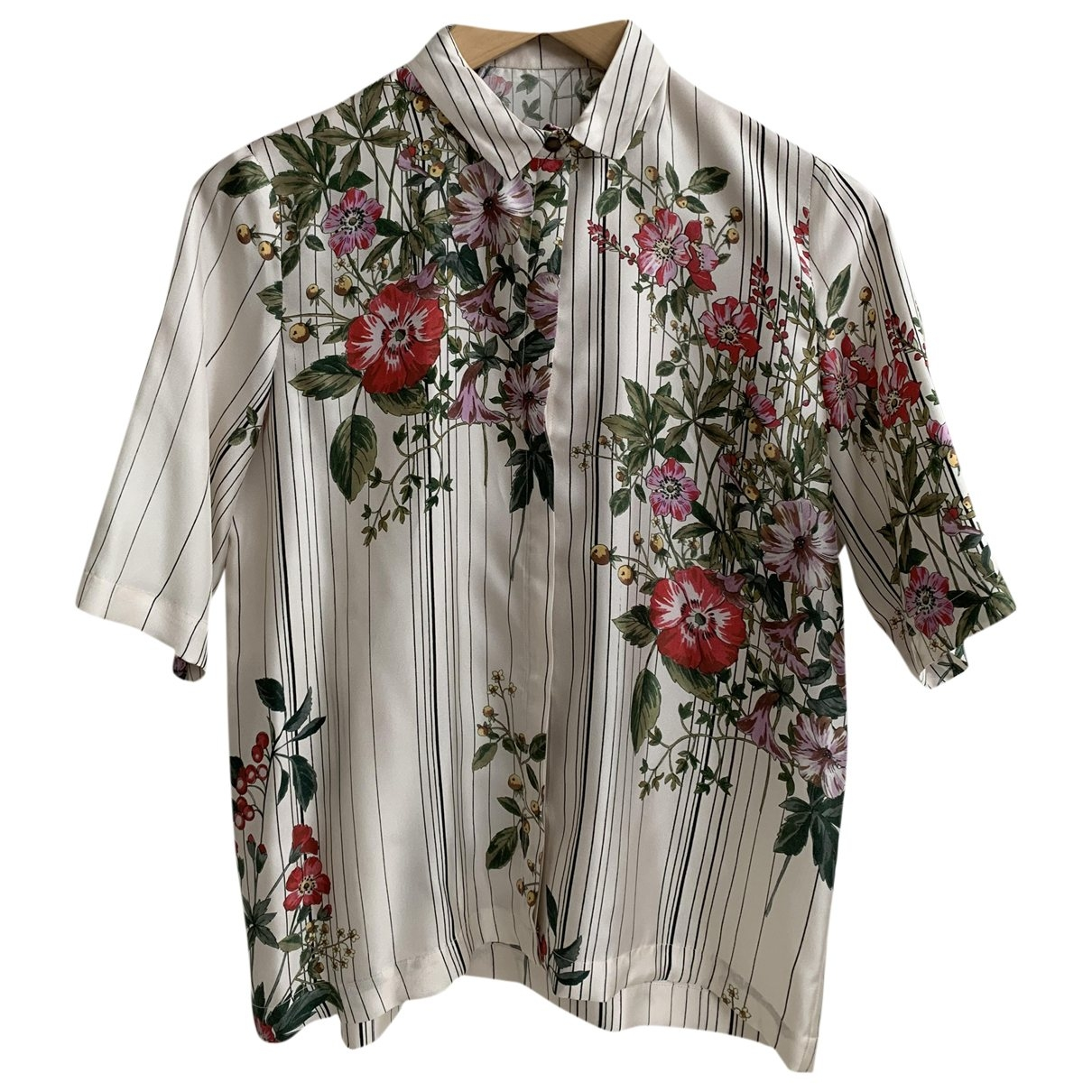Camisa de Seda Roseanna