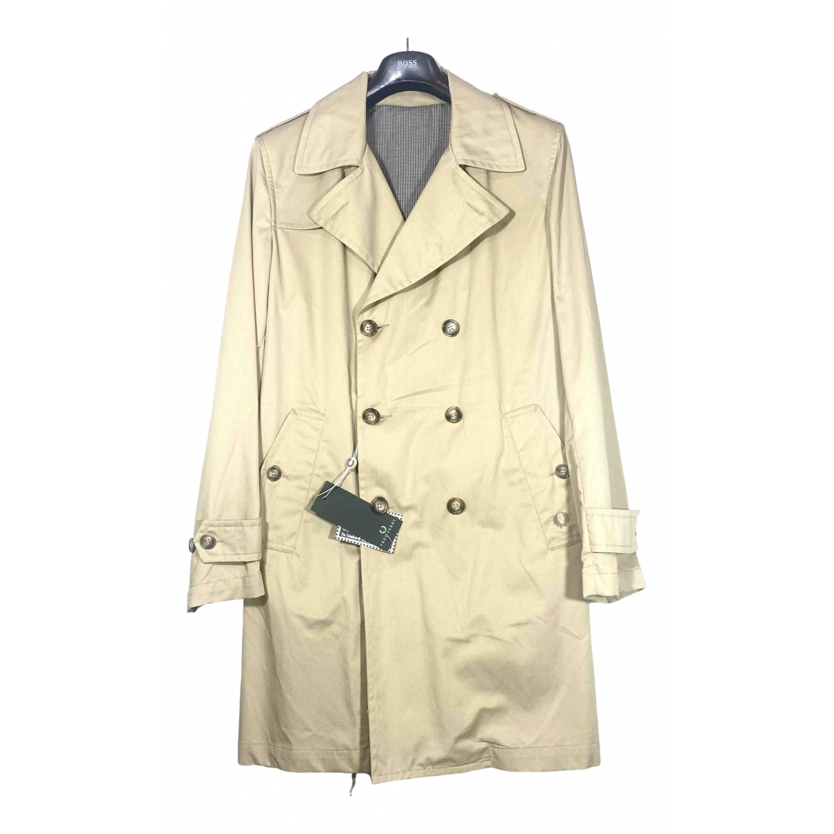 Fred Perry \N Beige Cotton coat  for Men XL International