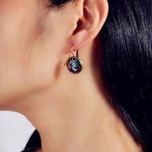 Ohrringe mit Eule Muster