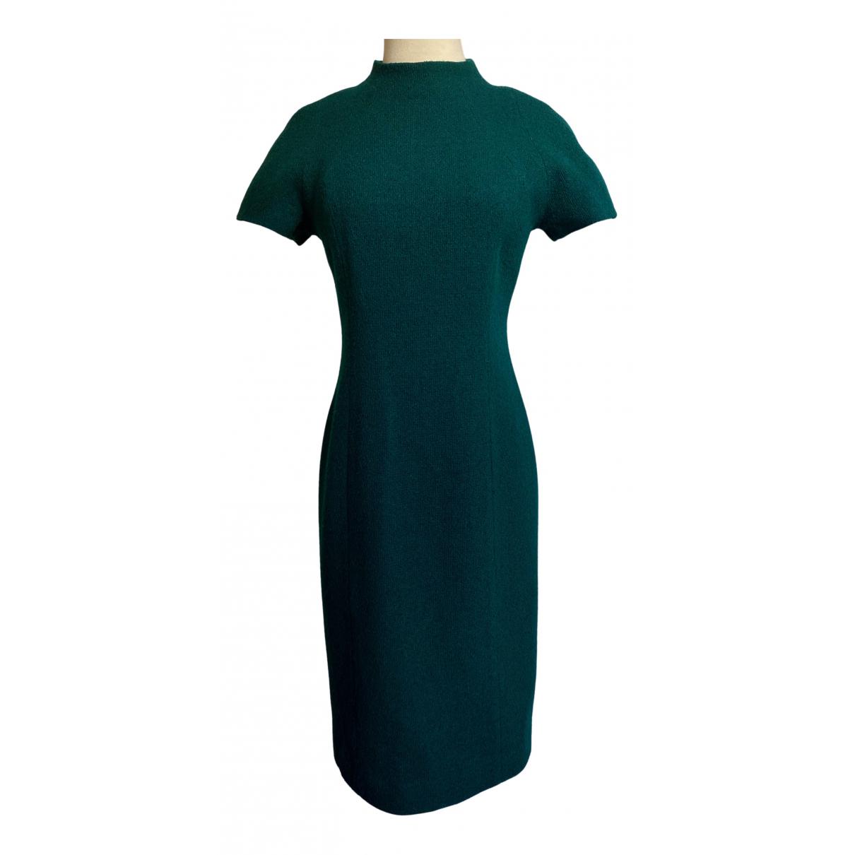 Dior - Robe   pour femme en laine - vert