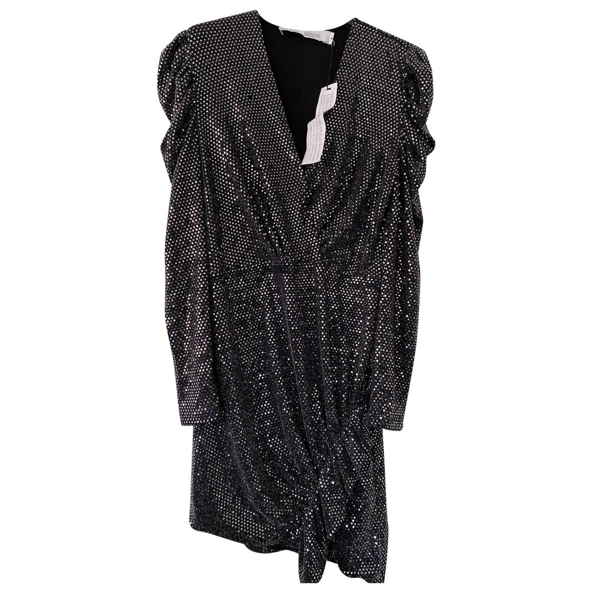 Iro Fall Winter 2019 Kleid in  Silber Mit Pailletten