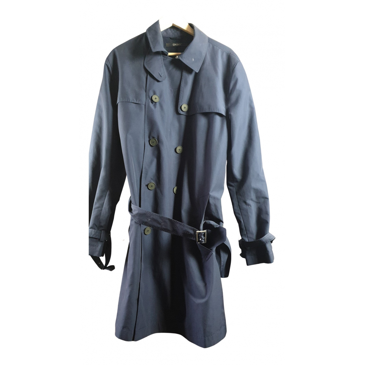 Dkny - Manteau   pour homme - bleu
