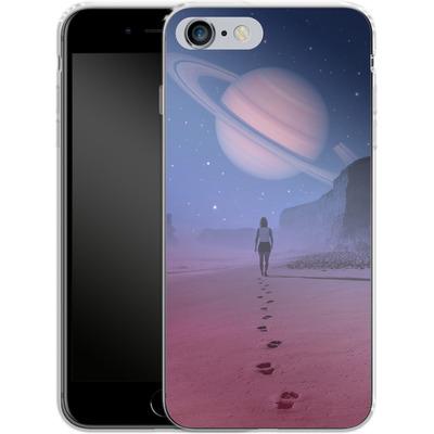 Apple iPhone 6s Plus Silikon Handyhuelle - Glimpse of a Dream Wide von Enkel Dika