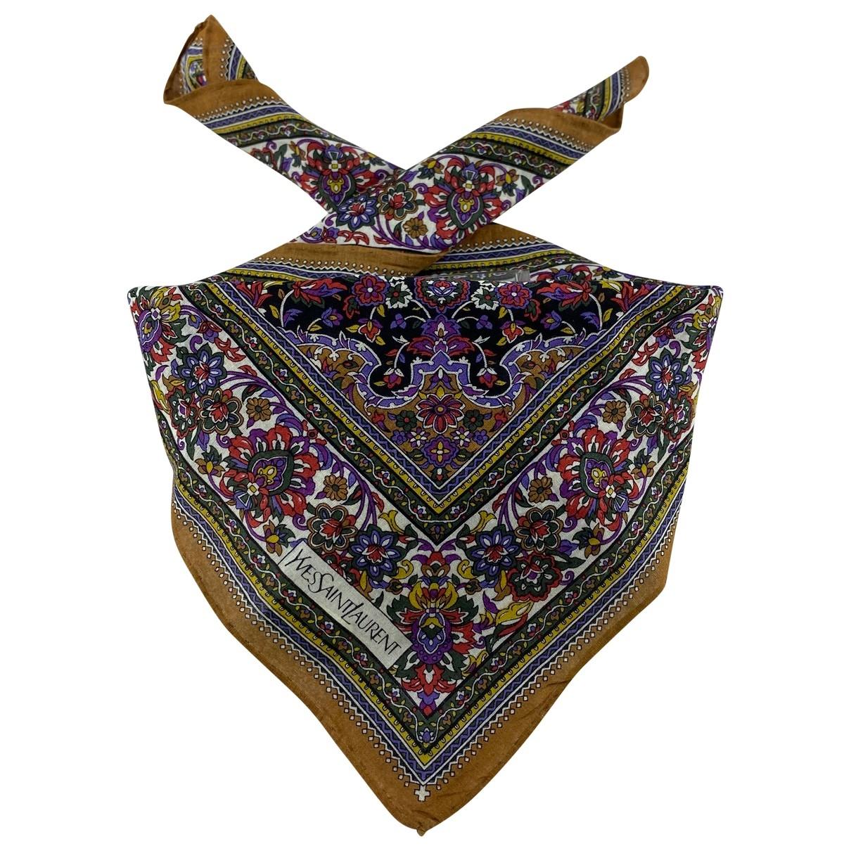 Yves Saint Laurent \N Cotton scarf for Women \N