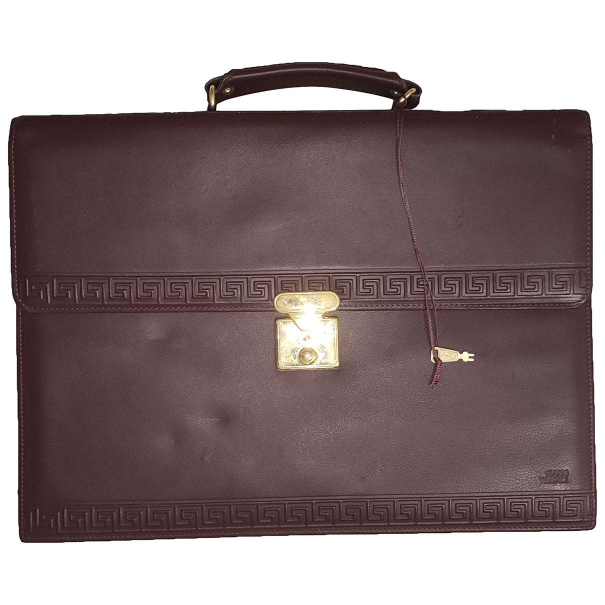 Gianni Versace \N Brown Leather handbag for Women \N