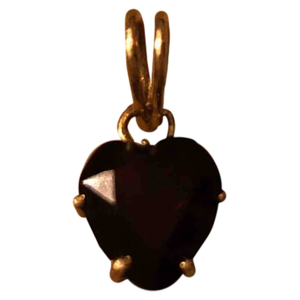 Non Signé / Unsigned Motifs Coeurs Gold Yellow gold pendant for Women \N