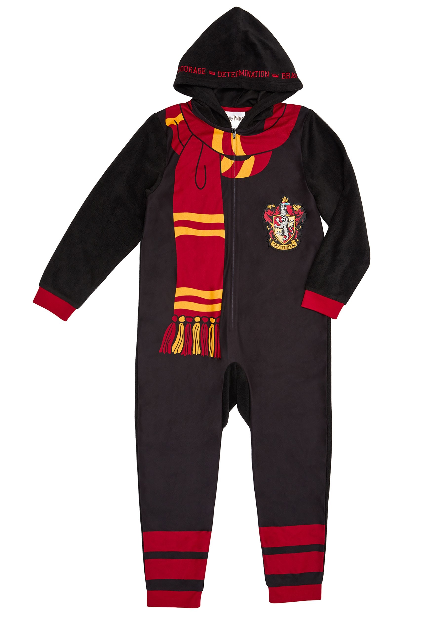 Kids Harry Potter Hooded Union Suit Costume