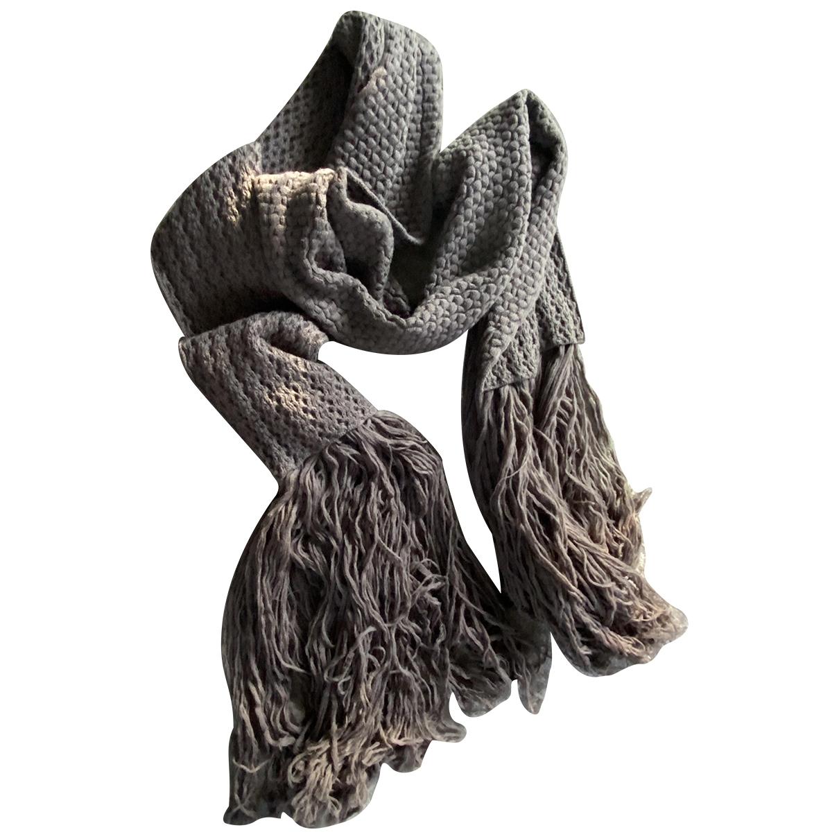 Lanvin \N Tuecher, Schal in  Khaki Wolle