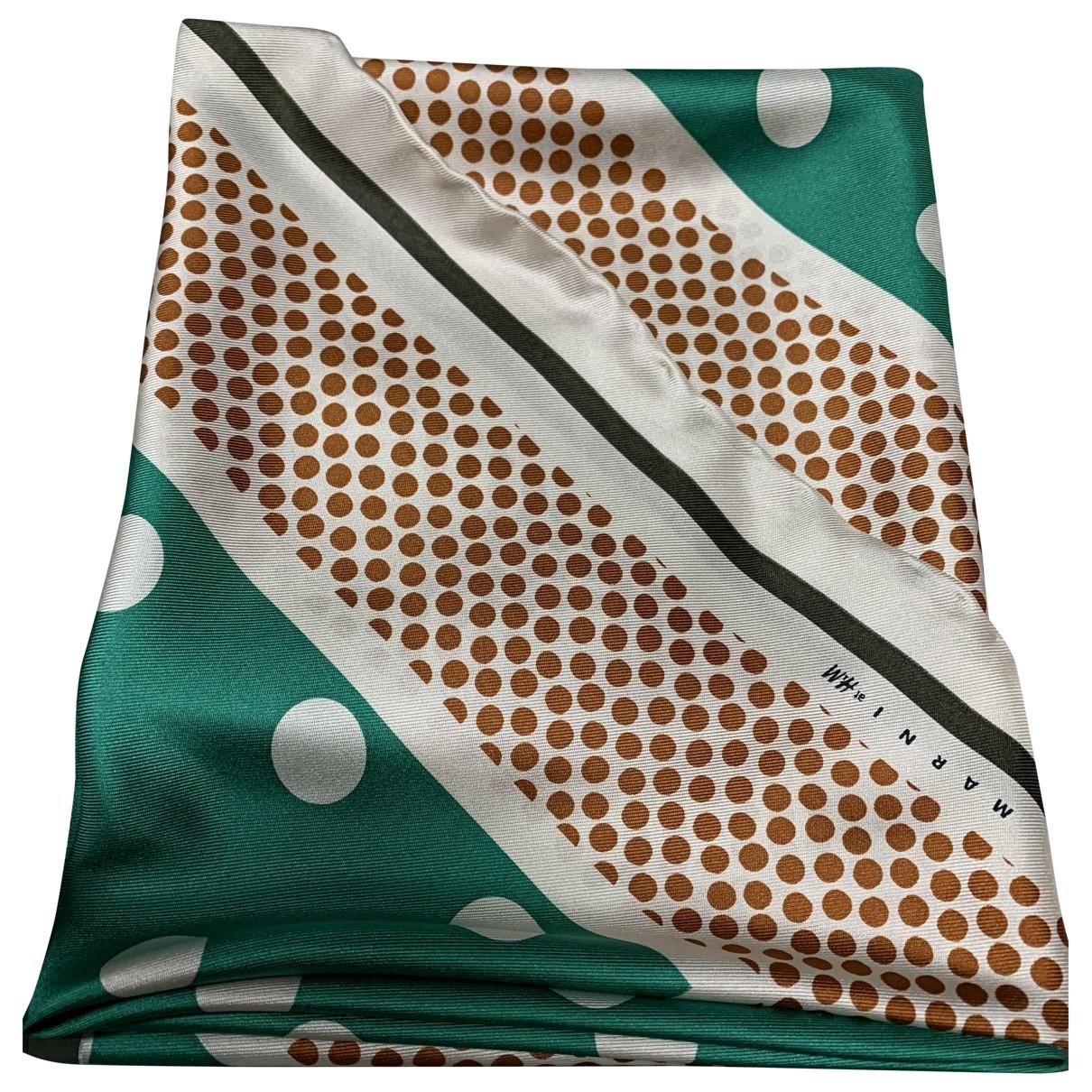 Marni For H&m \N Green Silk scarf for Women \N