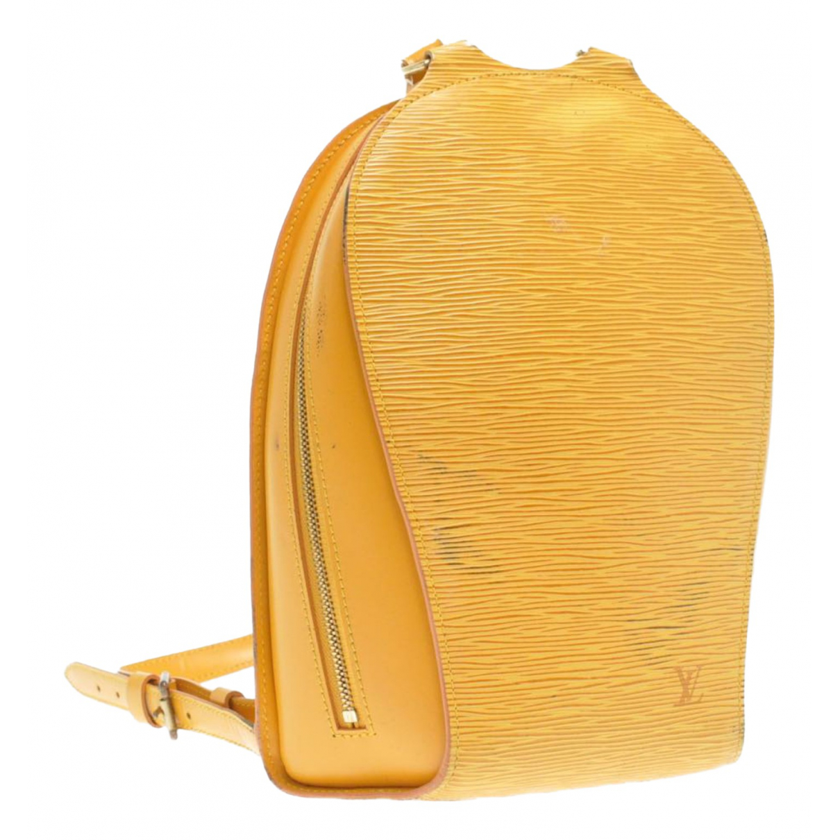 Louis Vuitton N Yellow Leather backpack for Women N