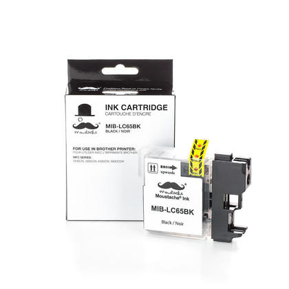 Compatible Brother MFC-5890CN Black Ink Cartridge by Moustache, High Yield