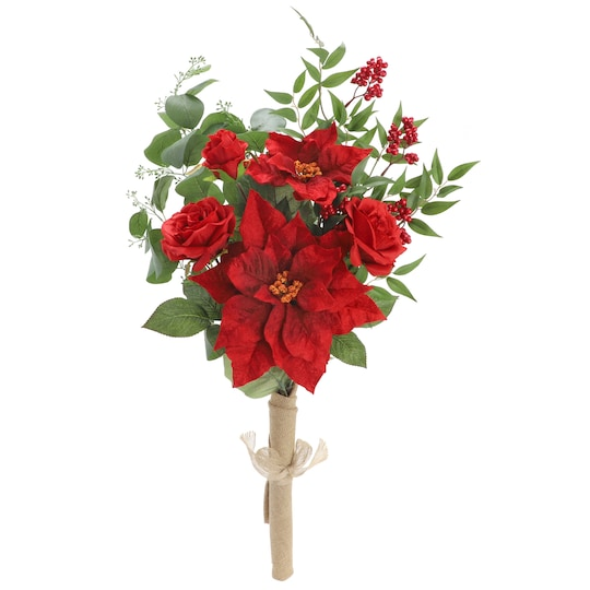 Red Poinsettia Deluxe Bundle By Ashland® | Michaels®