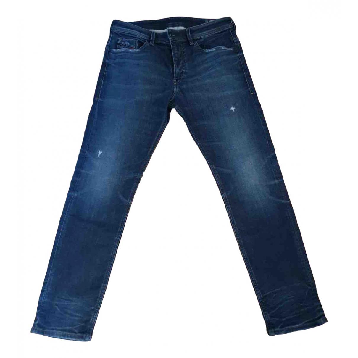 Diesel \N Navy Jeans for Men 33 US