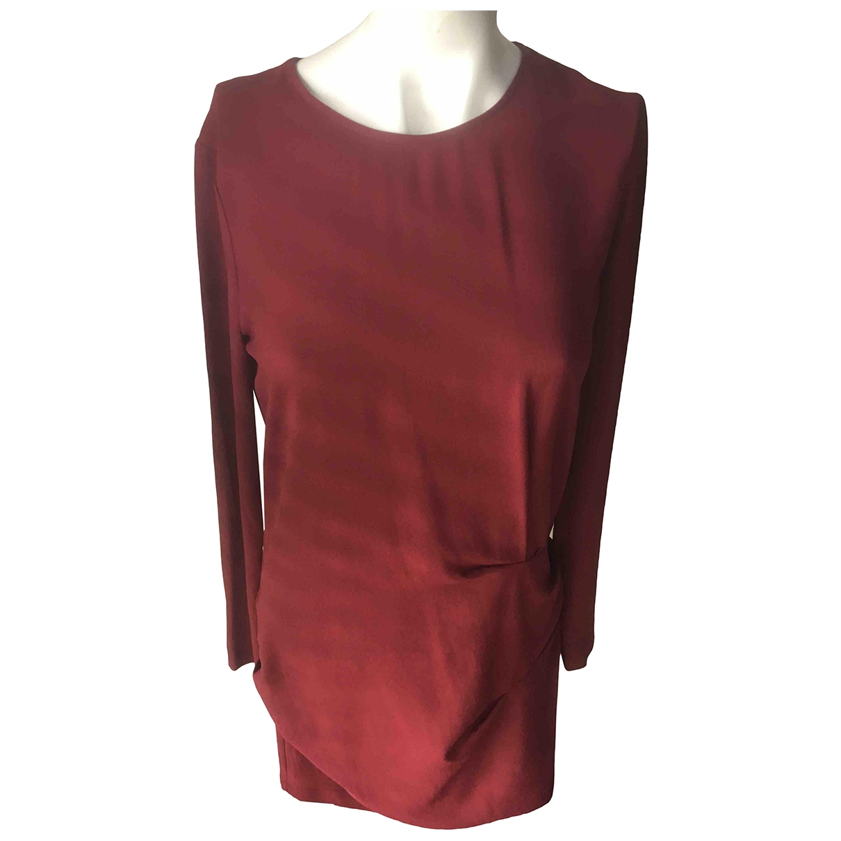 Iro \N Kleid in  Bordeauxrot Polyester
