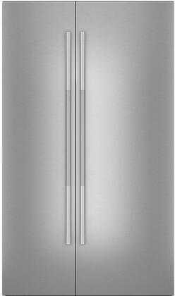 JBSFS48NHL RISE Style Stainless Steel Door Panels for 48