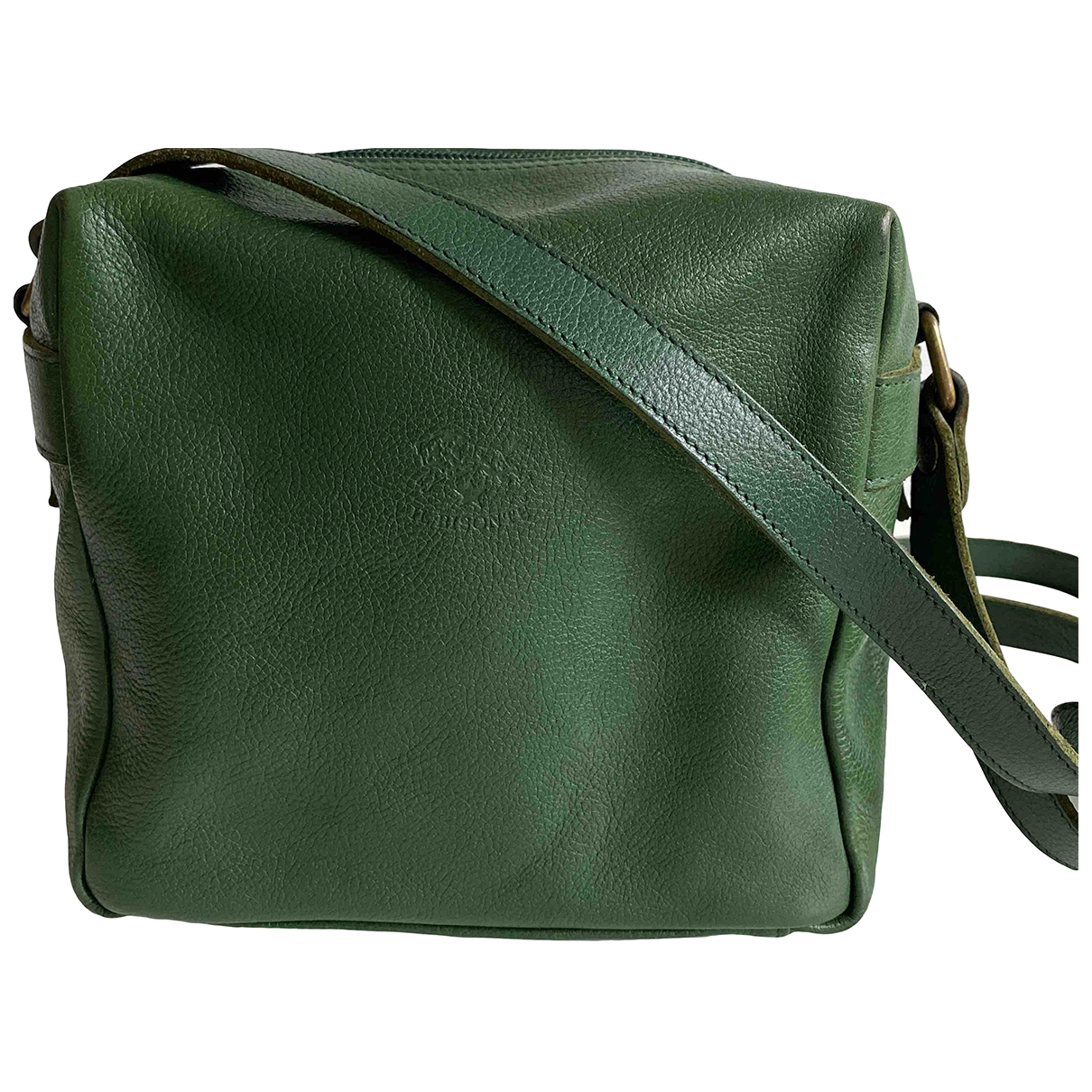 Il Bisonte \N Green Leather Travel bag for Women \N
