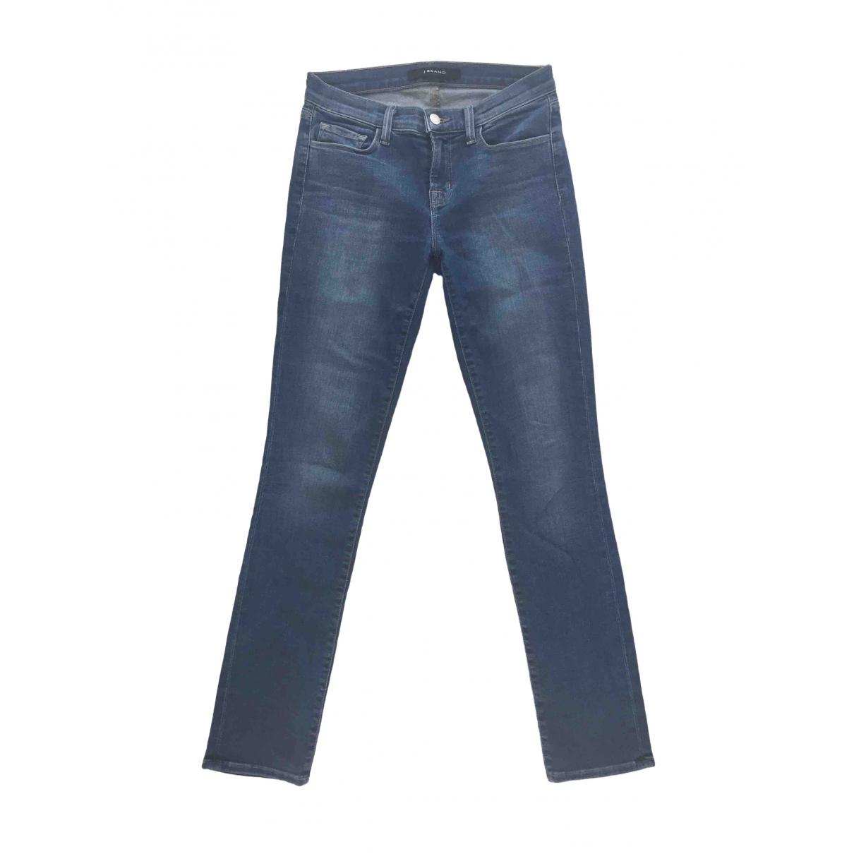 J Brand \N Blue Denim - Jeans Jeans for Women 26 US