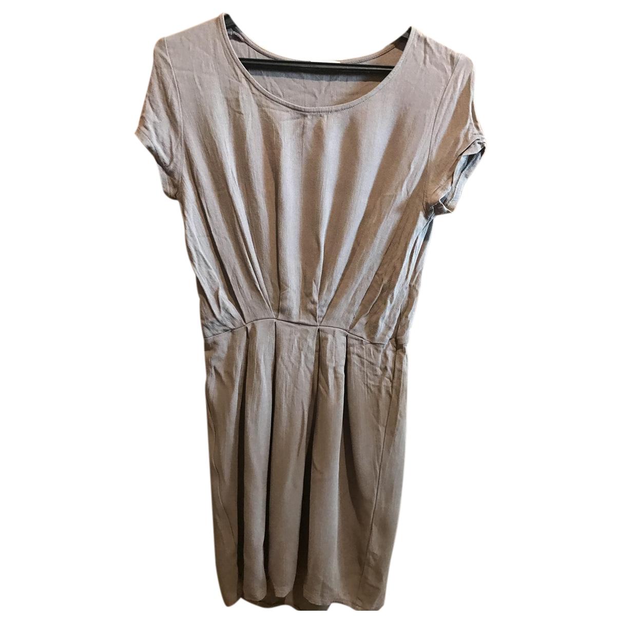 American Vintage \N Kleid in  Beige Viskose
