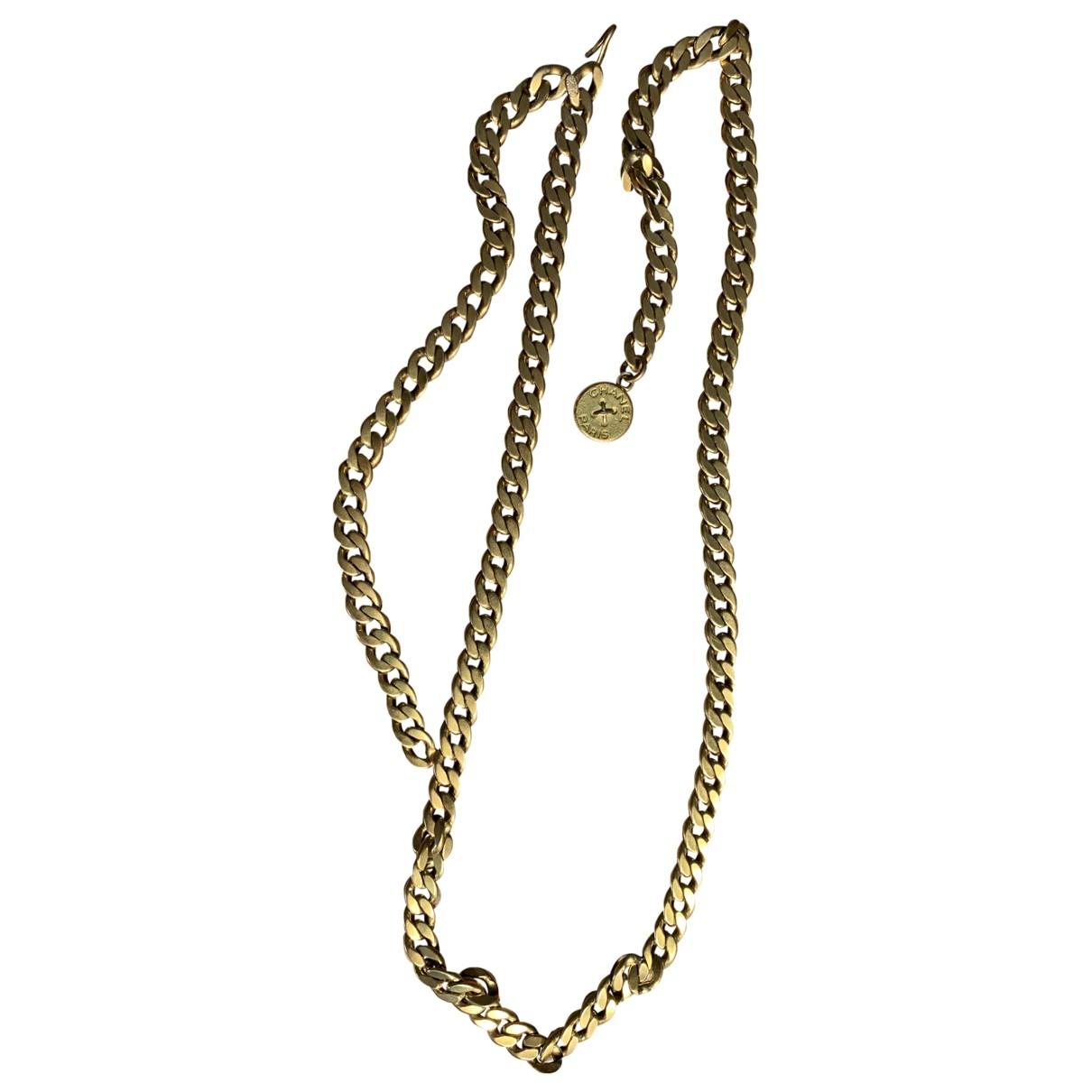 Chanel - Ceinture   pour femme en chaine - dore