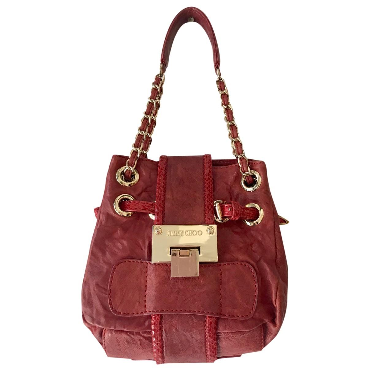 Jimmy Choo \N Red Leather handbag for Women \N