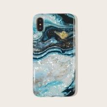 iPhone Huelle mit Marmor Muschel Muster