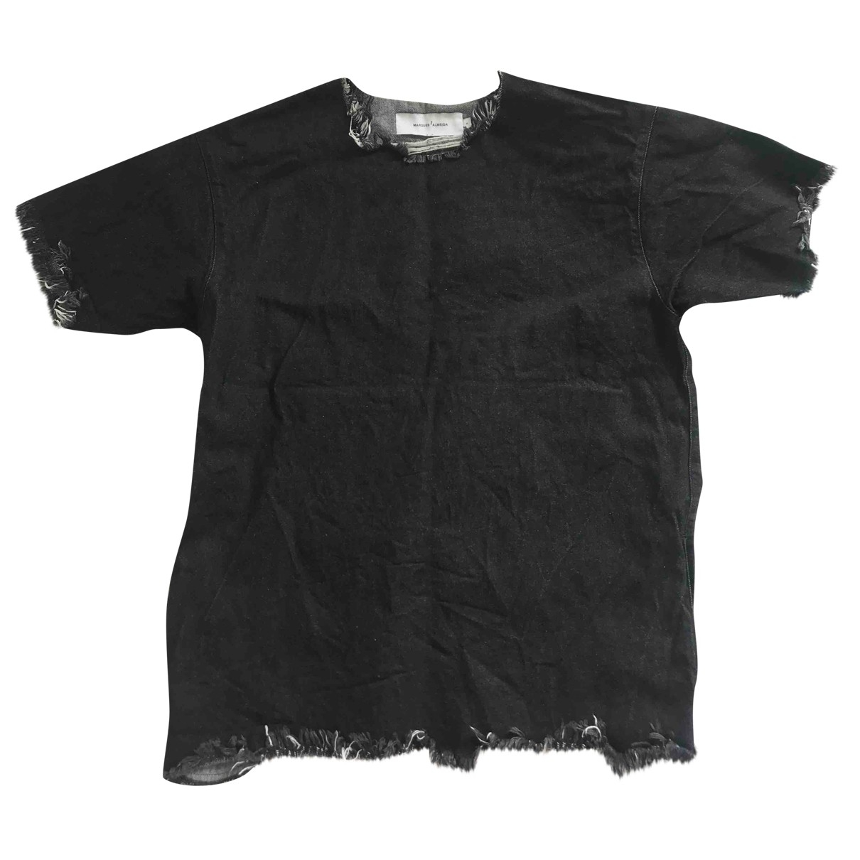 Marques Almeida \N Kleid in  Schwarz Baumwolle