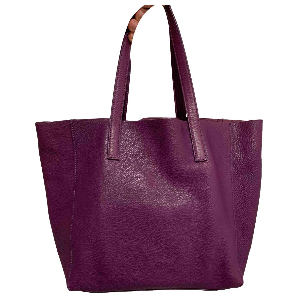 Etro - Sac a main   pour femme en cuir - violet