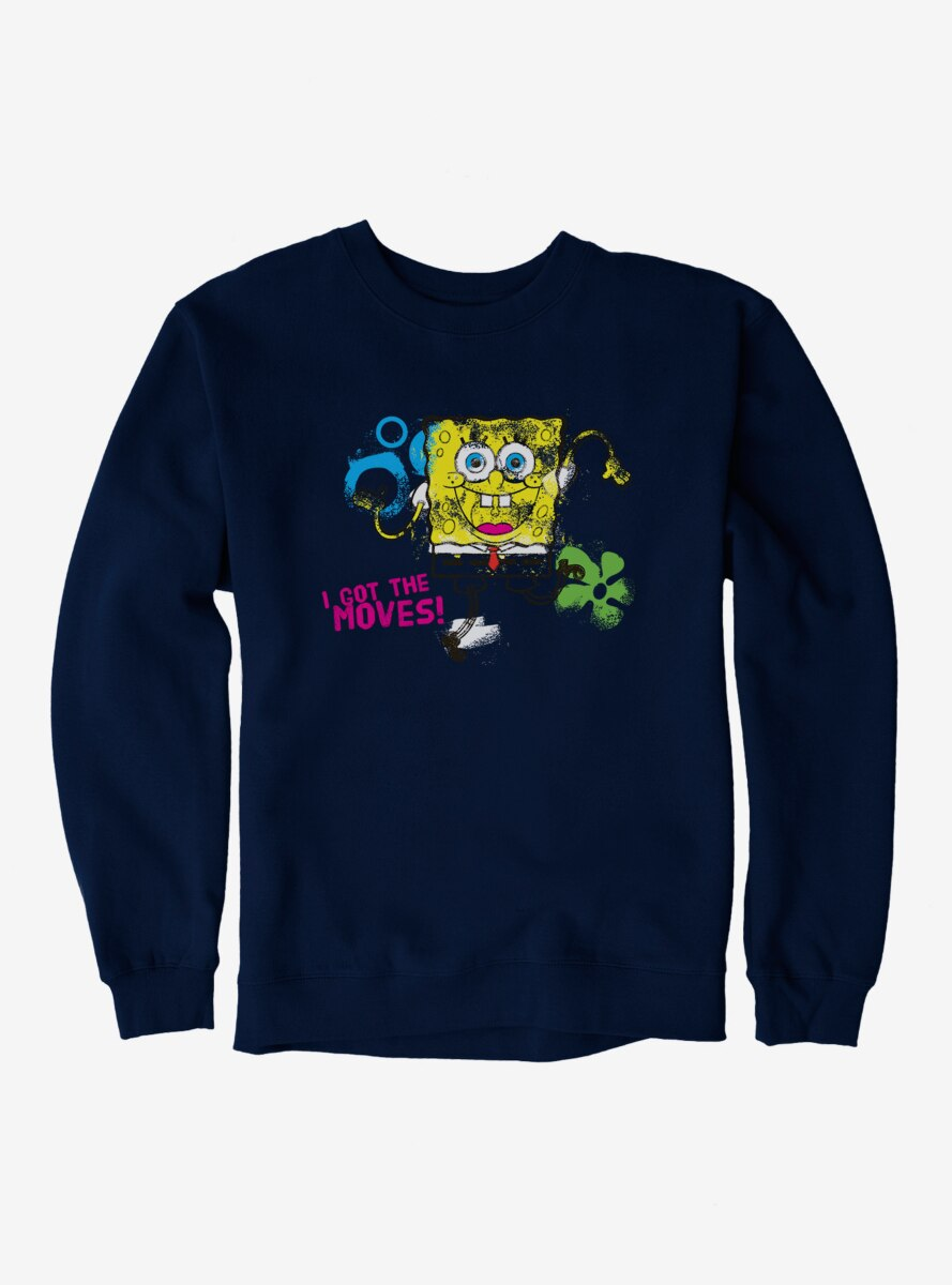 SpongeBob SquarePants Got The Moves Dance Sweatshirt