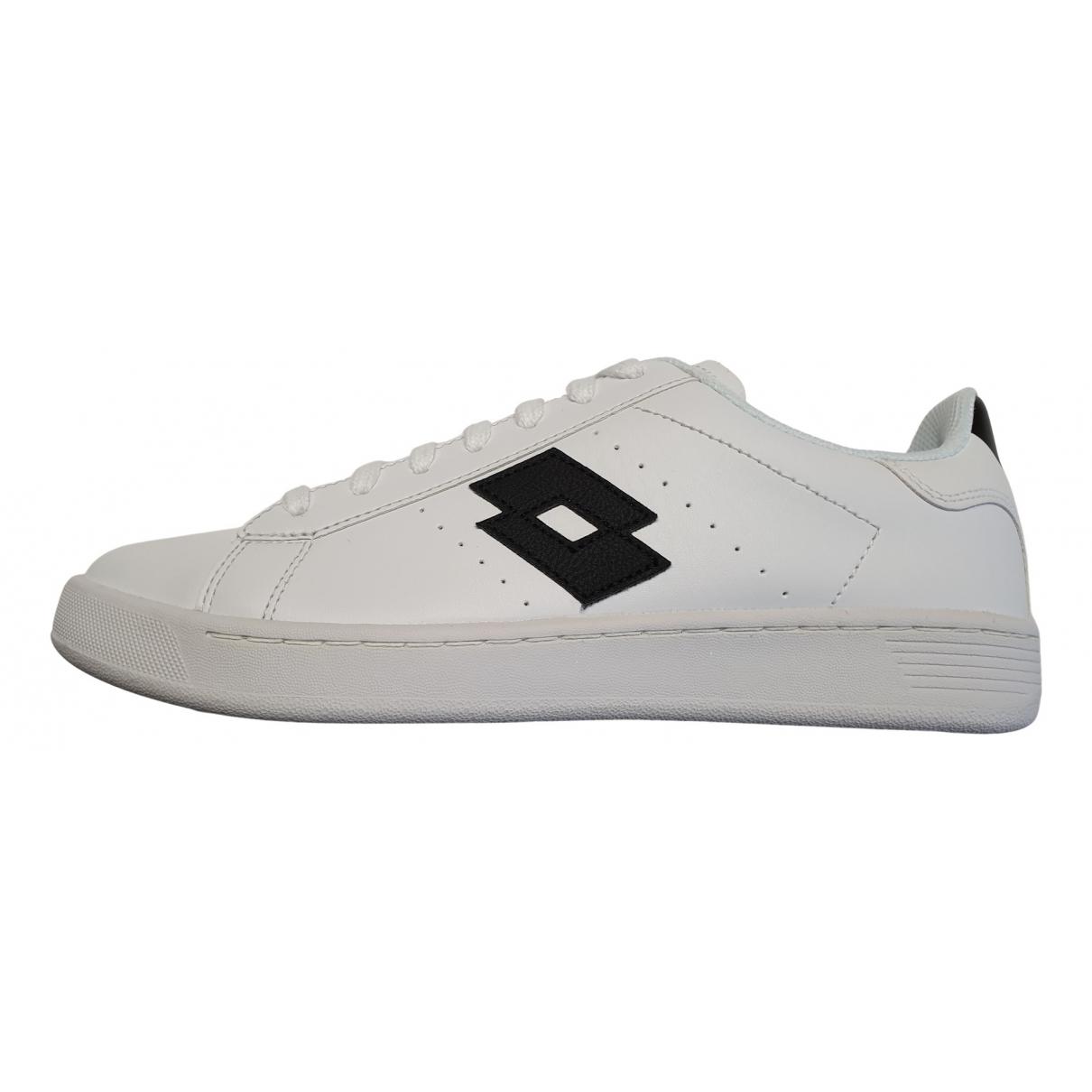 Lotto \N Sneakers in  Weiss Leder