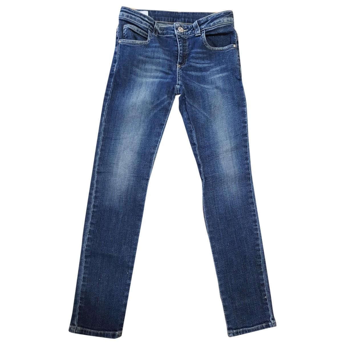 Gucci - Pantalon   pour enfant en coton - bleu