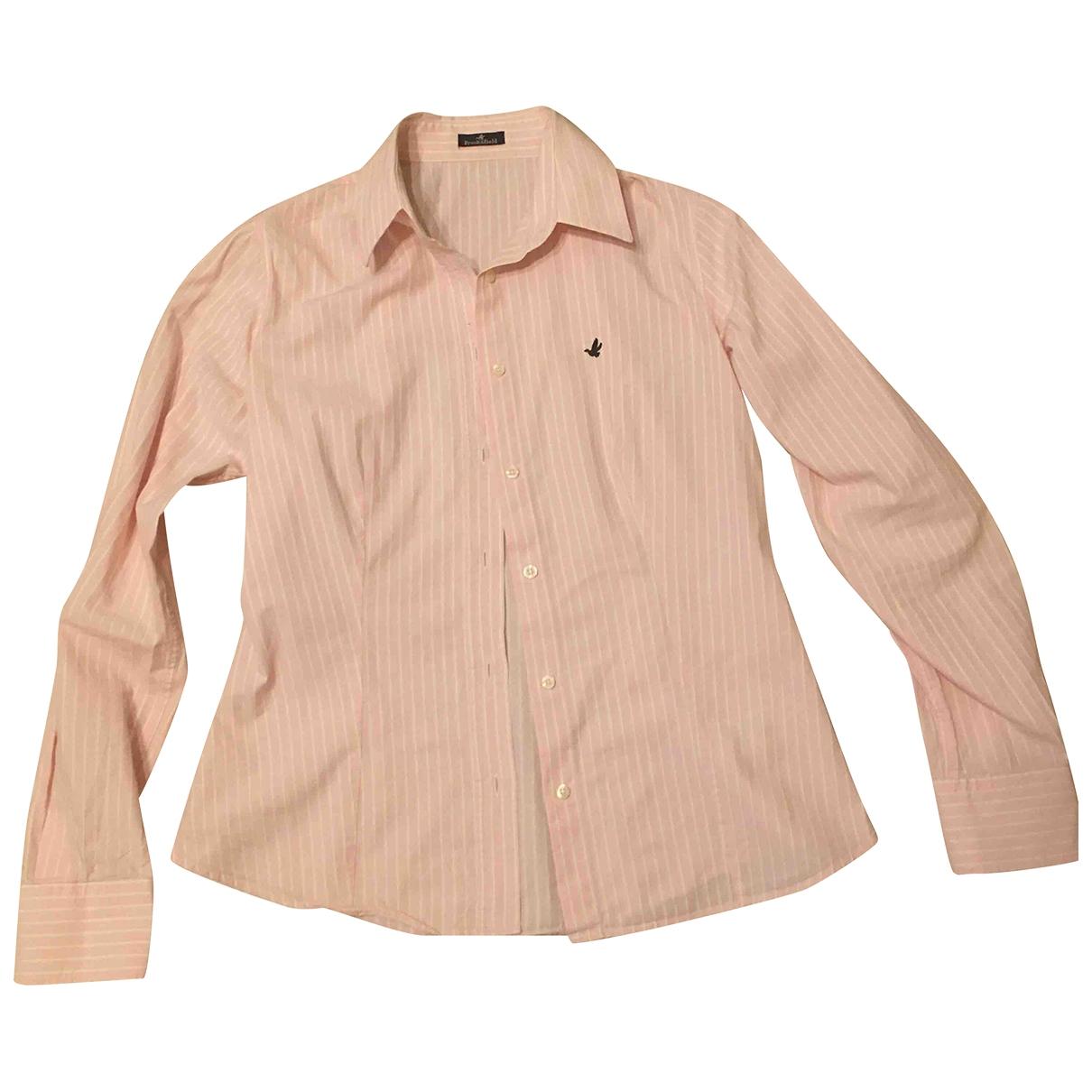 Brooksfield - Top   pour femme en coton - rose