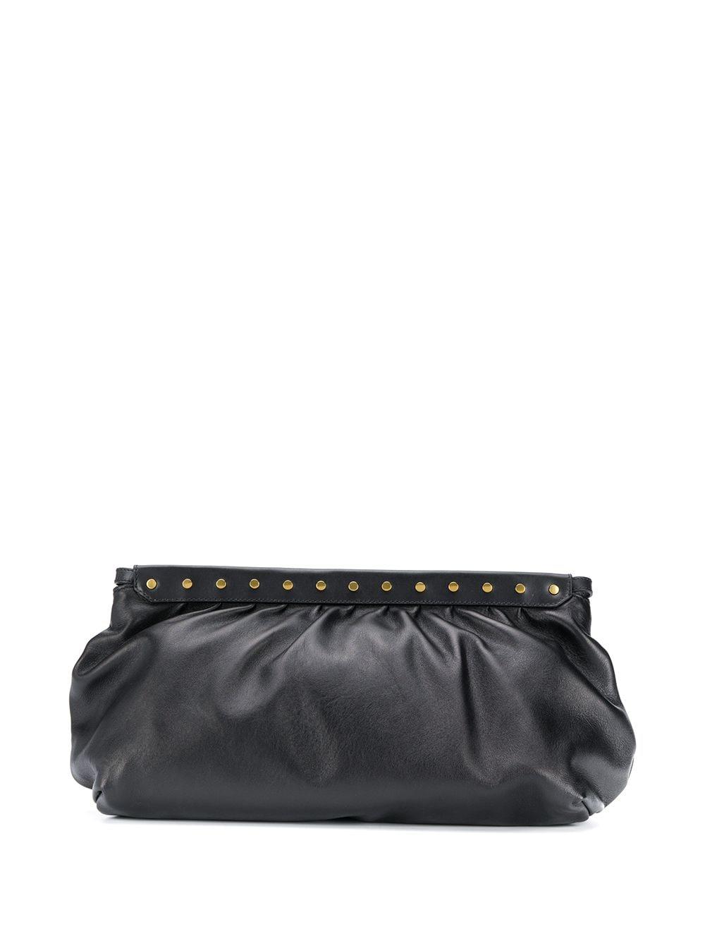 Luz Leather Clutch