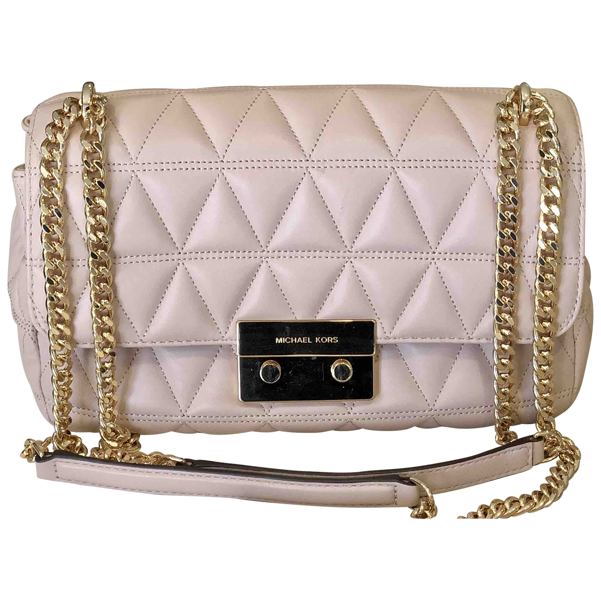 Michael Kors Sloan Pink Leather Clutch bag for Women \N
