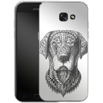 Samsung Galaxy A5 (2017) Silikon Handyhuelle - Labrador von BIOWORKZ
