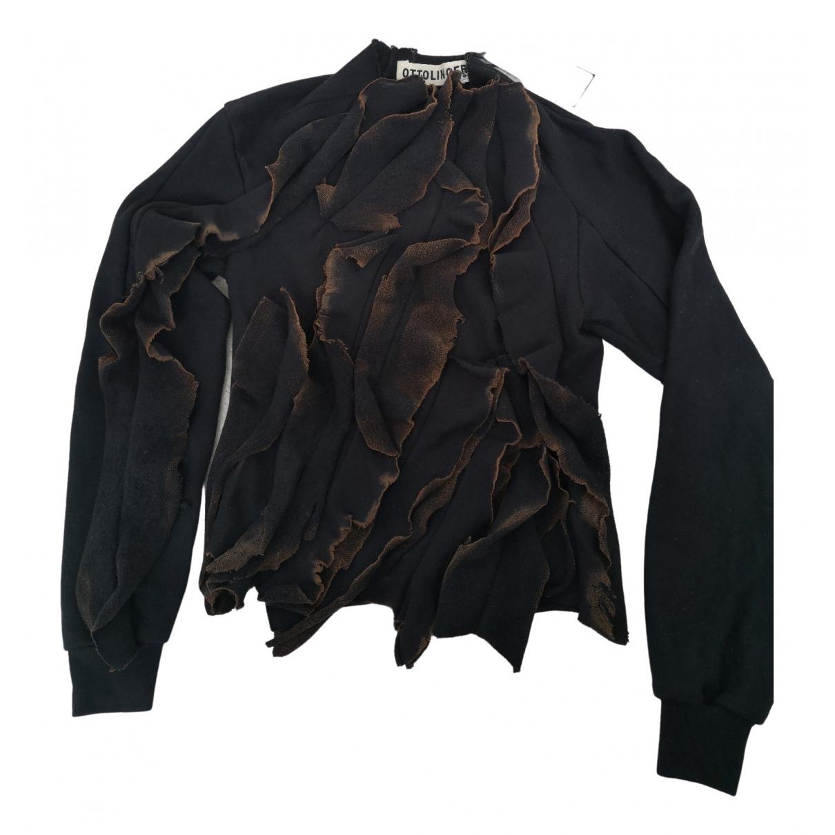 Ottolinger \N Black Cotton  top for Women 34 FR