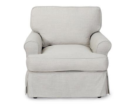 SU-117620SC-220591 Horizon Chair - Slip Cover Set Only - Light