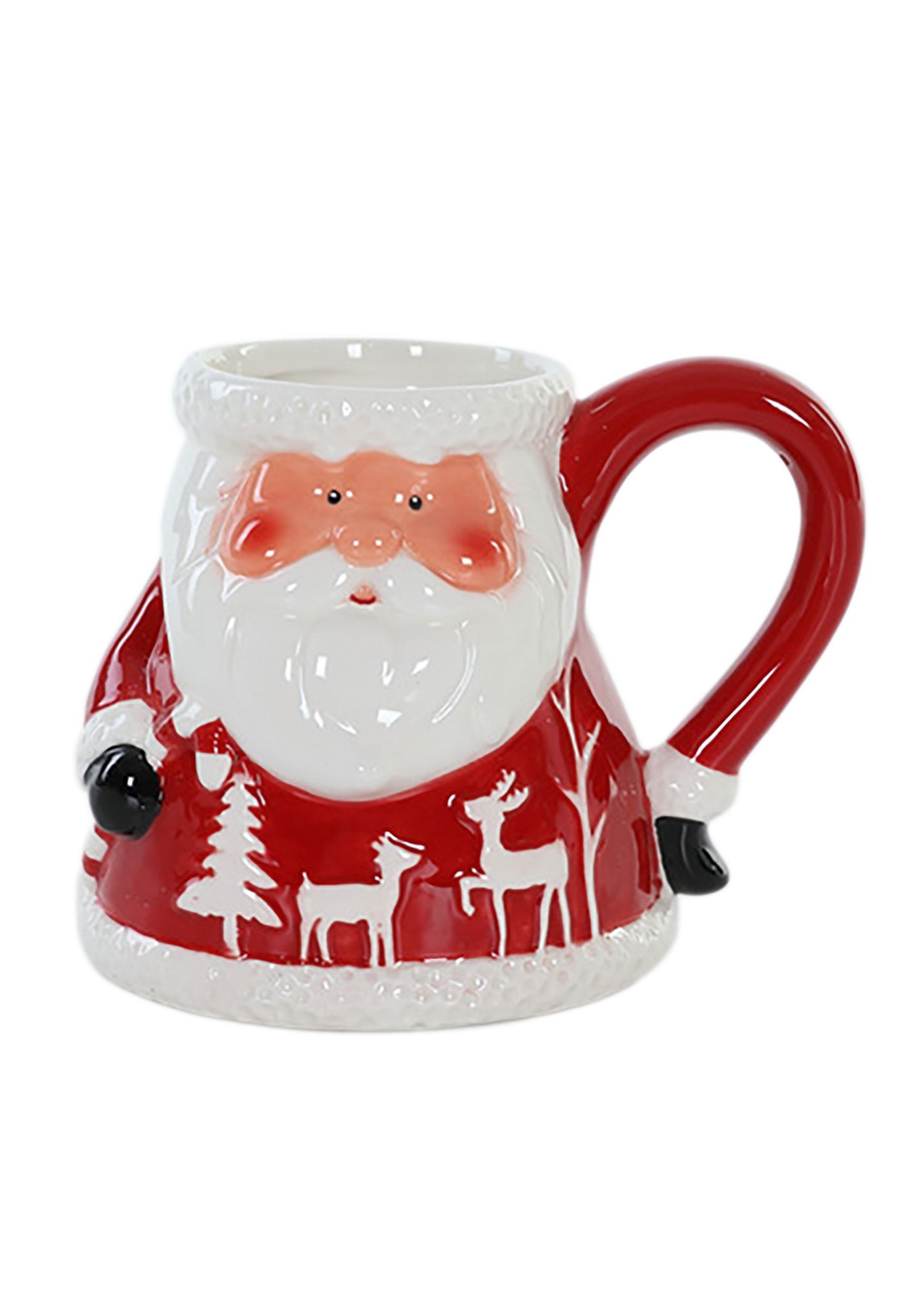 Santa Christmas Ceramic Mug
