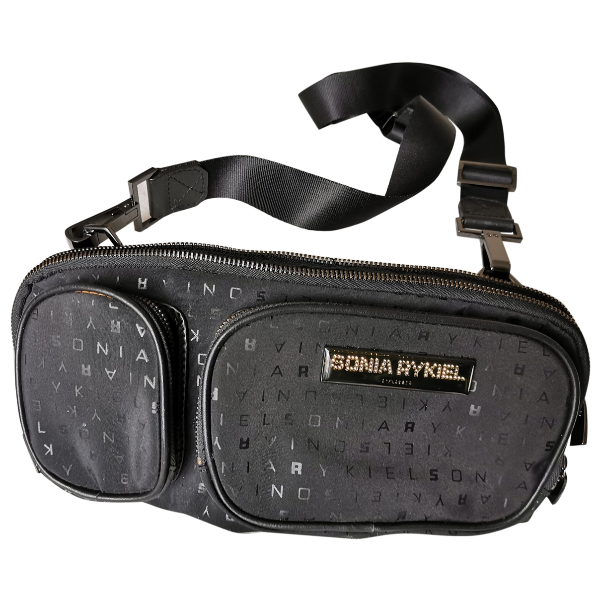 Sonia By Sonia Rykiel \N Black Cloth handbag for Women \N
